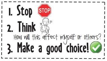 This poster and sticker set for classroom management will aid young children in making positive choices. This will empower students to make good d...