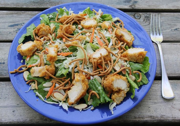 Just Like Applebee's Oriental Chicken Salad from 4 Little Fergusons blog