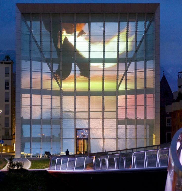 Stefano Cagol, Museion, Medienfassade, 2012 Museion Bolzano http://www.museion.it/?p=6781