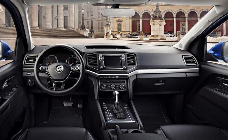 Volkswagen Amarok 3.0 V6 TDI, 2017, interior
