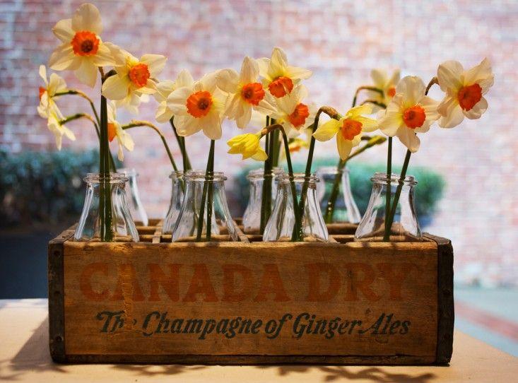 Une vieille caisse de bouteille #DIY - #Decoration #astuce