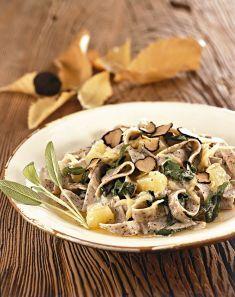 Pizzoccheri con bietole, Emmentaler e tartufo - Tutte le ricette dalla A alla Z - Cucina Naturale - Ricette, Menu, Diete