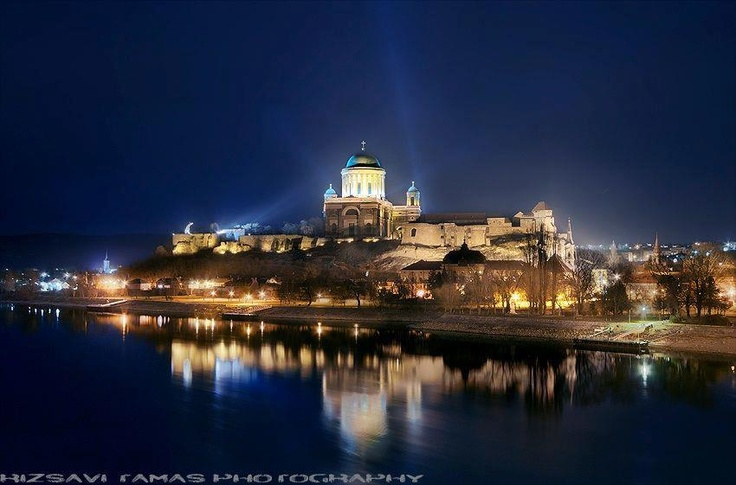 Castle and Basilica of Esztergom #Hungary #Europe #Danube