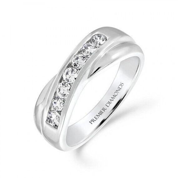 crossover ring bride amazon sparkly wide fashion jewelry rings plated rhodium com dp band statement cz