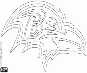 128 best vinyl images on pinterest music notes for Ravens coloring pages