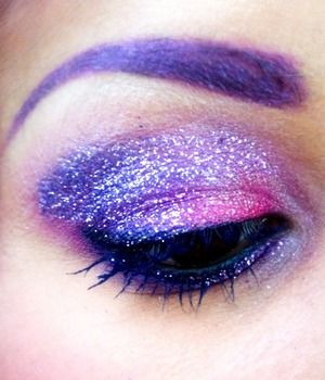 Twisted sister lit cosmetic glitter