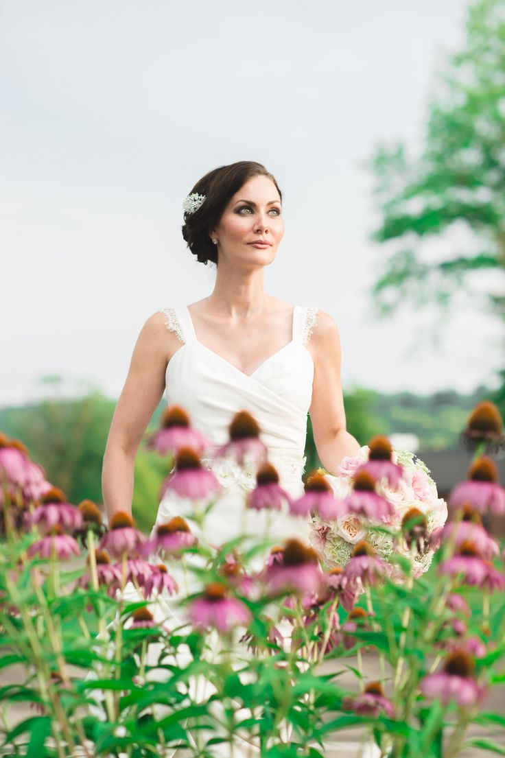 Wedding Style Shoot with Bride and Wild Flowers   www.aboccasiondesign.com