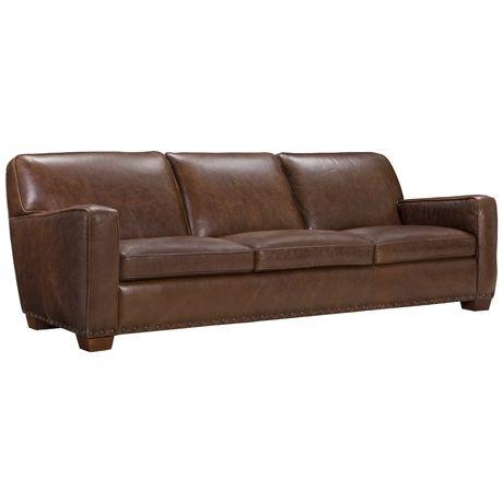 Hermitage 3 Seat Sofa Scottsdale Tobacco