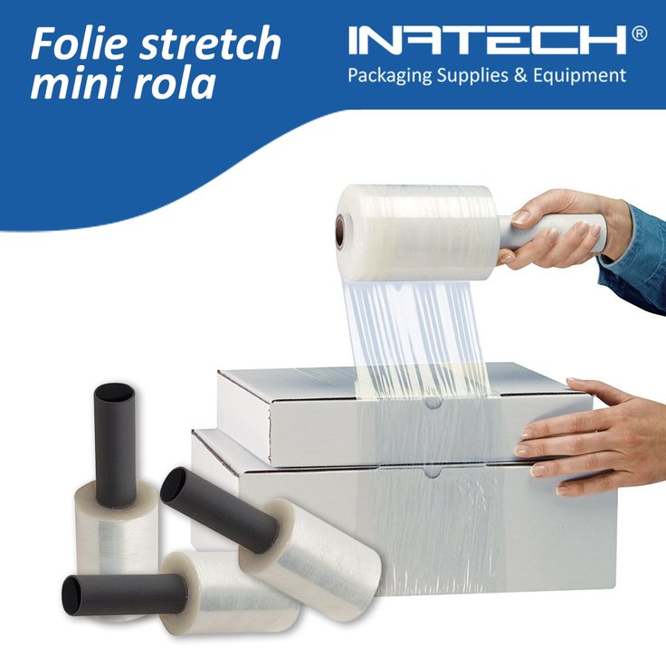 Folie stretch mini rola