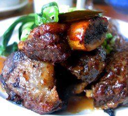 Adobo short ribs. Filipino/Hawaiian style