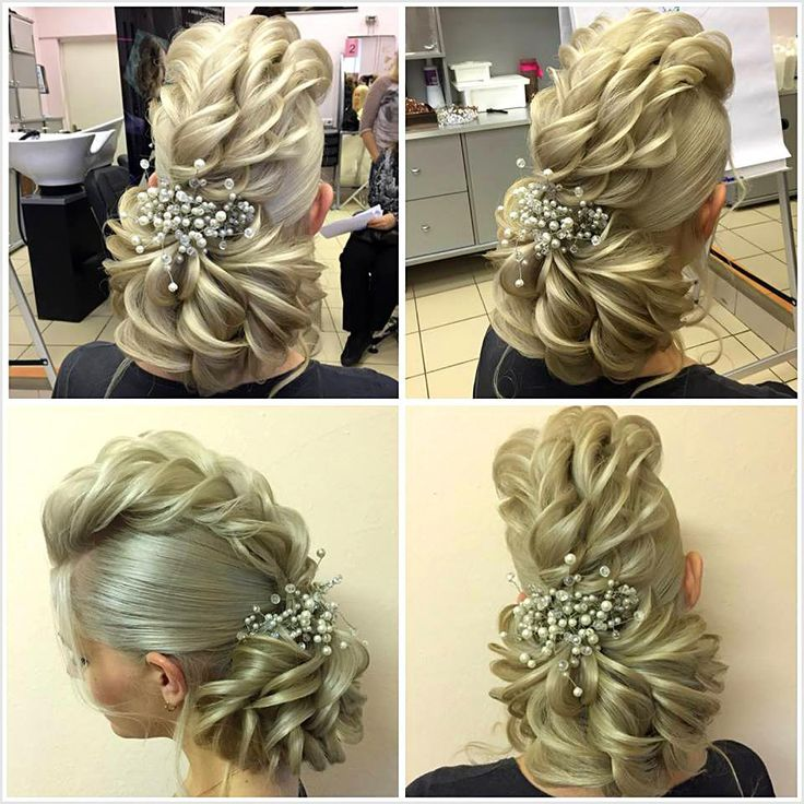 The Low Chignon is often a smooth bridal hair messy bun which looks extremely lovely on bridesmaid as well. #weddinghairstyles #coolhairstyles #easyha...