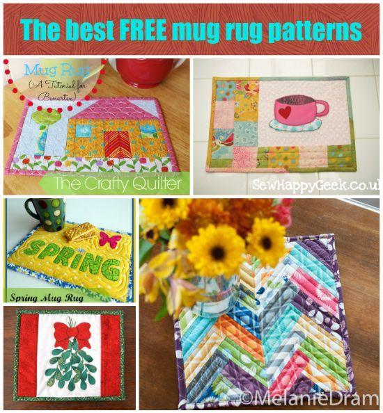 free mug rug patterns pdf