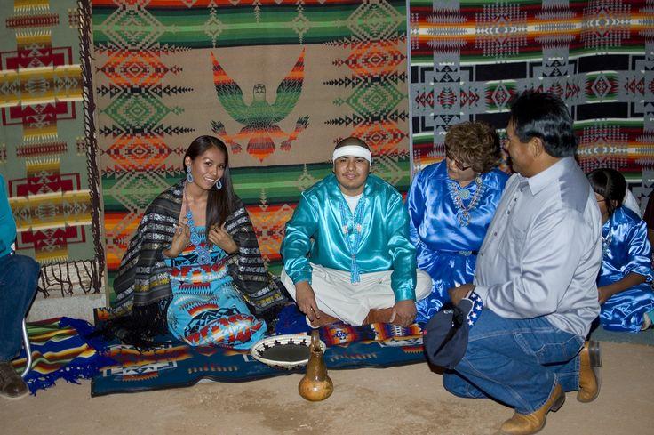 Navajo Wedding by Zane Tallsalt