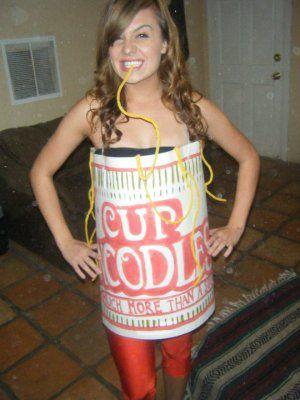 Cup Noodles - CollegeHumor Halloween