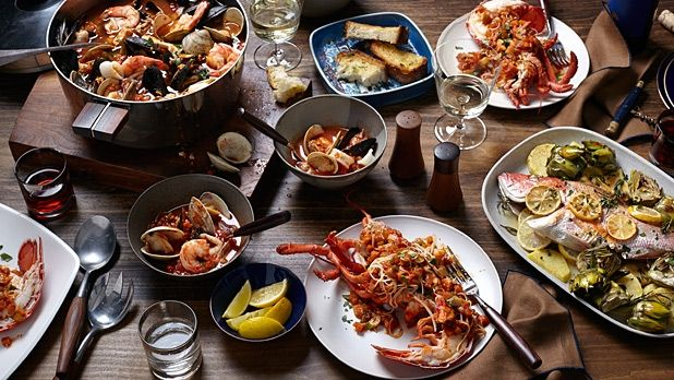 3 dishes for your feast of the seven fishes seafood for Italian seven fishes