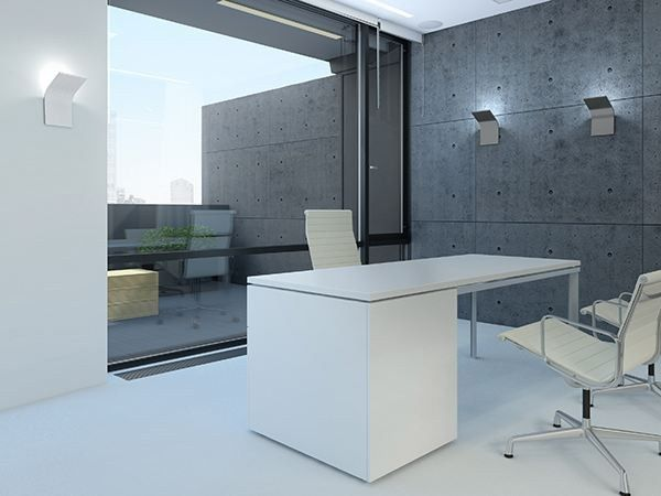 Arandela de alumínio com luz indireta APP by PANZERI