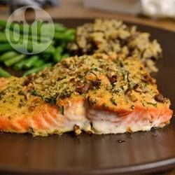 Pecan Crusted Salmon @ allrecipes.com.au