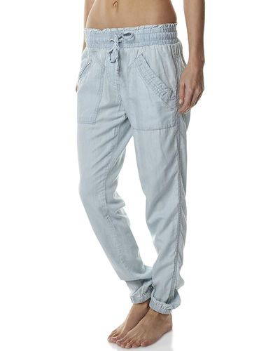LIVING DOLL CHILLAX PANT - BLUE BY YOU
