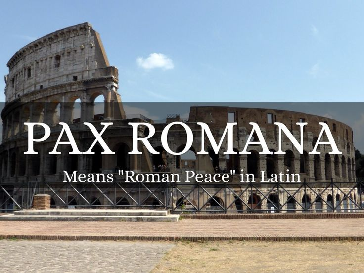 """Pax Romana"" by Caleb Acomb -- Learn about the key points in history during the Pax Romana era."