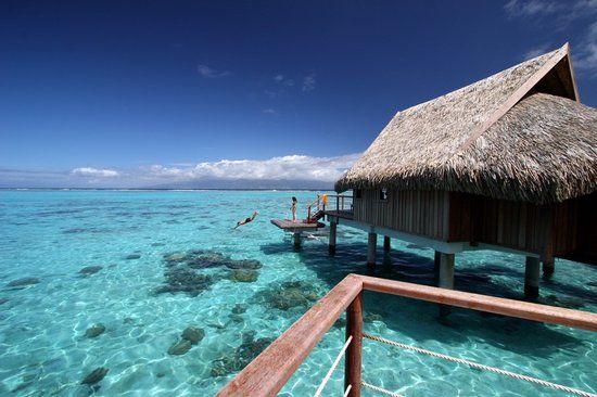 Sofitel Moorea Ia Ora Beach Resort - 10 bangalôs incríveis sobre o mar