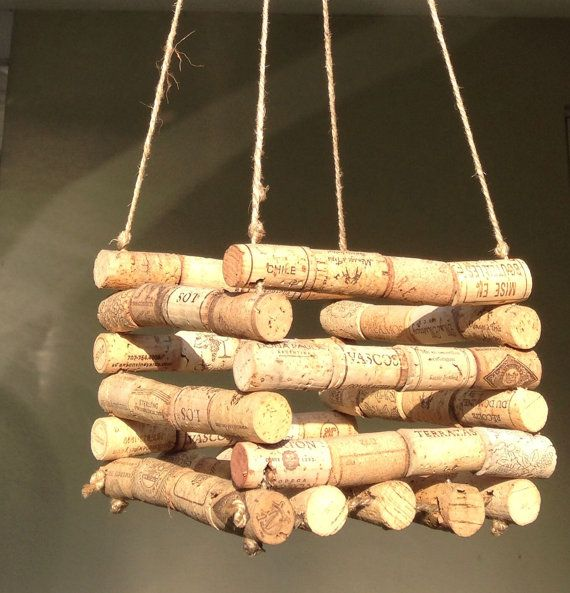 Hanging Wine Cork Orchid Basket