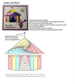Irisvouwen: Circustent