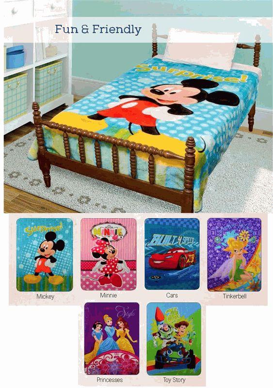 Disney Blankets your kids will love them!