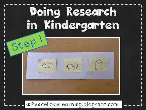 Peace, Love and Learning: Research in Kindergarten?