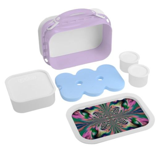 Abstract Butterfly Lunchbox