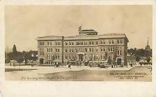 RPPC  SALEM, OH Ohio   CITY HOSPITAL Year of Opening 1912 Artist's View