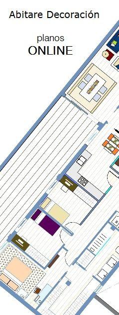 Abitare Decoración Blog PLANOS ONLINE http://abitaredecoracionblog.com/hacer-planos-online/