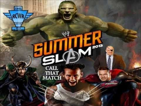 WWE Summerslam 2013 Match Card Prediction and Winners   The RCWR Show, I was routing for Daniel to win the championship because he's never been champ, and he deserved it, then the shock of randy and triple h's plan , turned me for a loop , its hard because I like both randy and Daniel , but would of rather had Daniel as wwe champ ! all in all the whole show was worth watching !