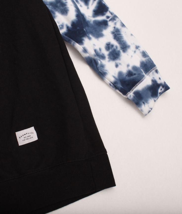 Akomplice Tie-Dye Sleeves Crewneck | Driftwood Store