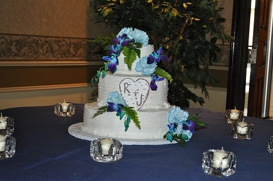 Rosemarie's Wedding cake