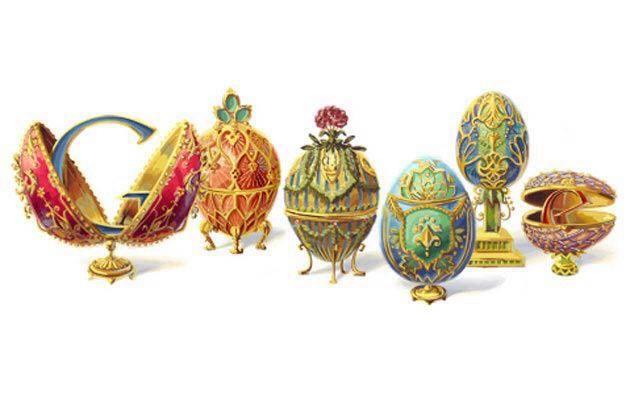 #doodle uova di Fabergè
