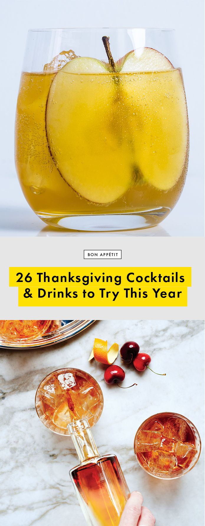 26 Thanksgiving Cocktail & Drink Recipes to Try This Year | Bon Appetit