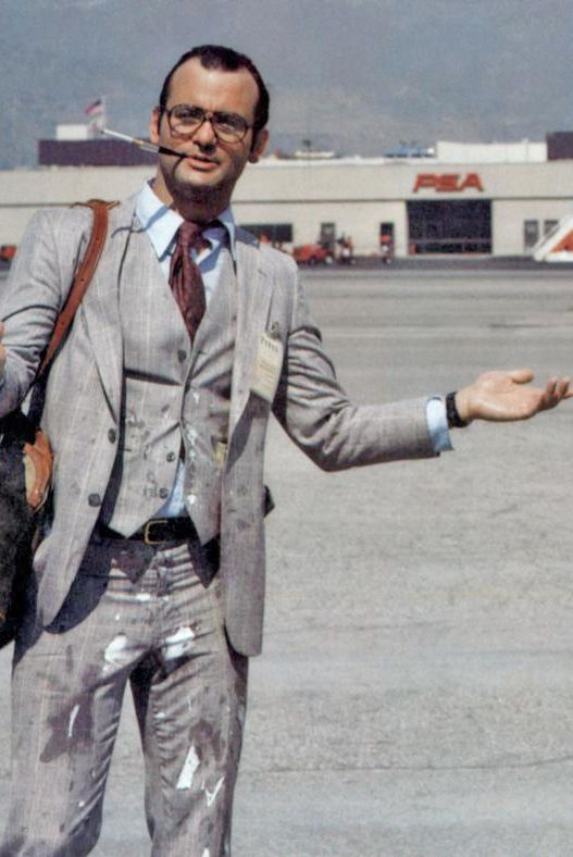 "Bill Murray as ""Harris from the Post"" in Where The Buffalo Roam 1980"