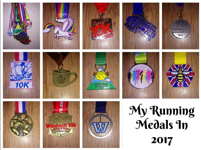 Fitbitches : My Running Medals in 2017