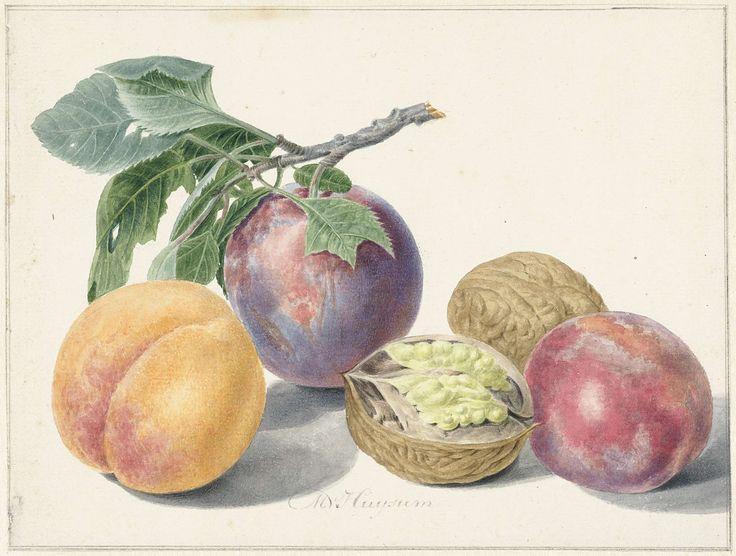Still life with fruit, Michiel van Huysum, 1714 - 1760
