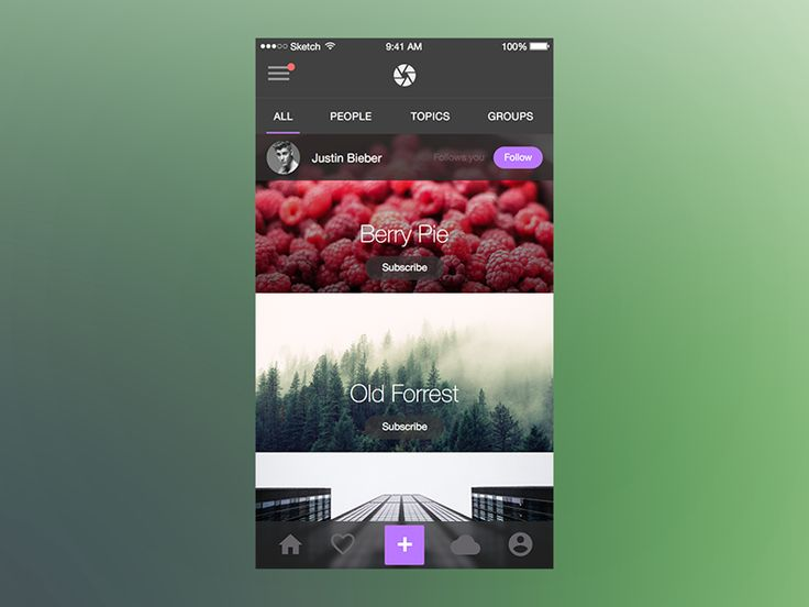 Photo Splash (UI Kit) for iOS by Maximlian Hennebach