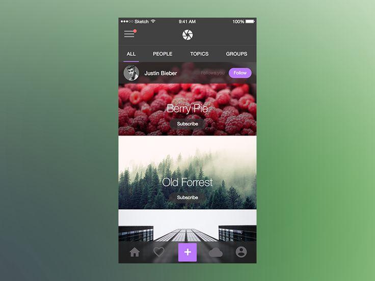 Photo Splash (UI Kit) for iOS by Maximlian Hennebach
