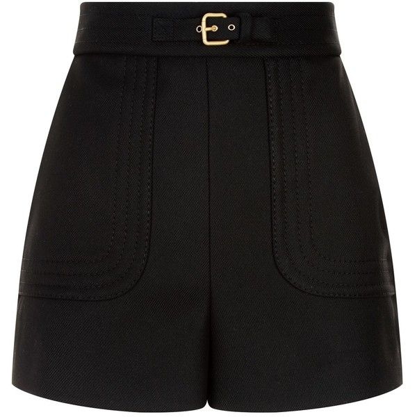 See this and similar RED Valentino shorts - Rendered in form-holding twill, these high-waist shorts from Red Valentino tap directly into this season's runway tr...