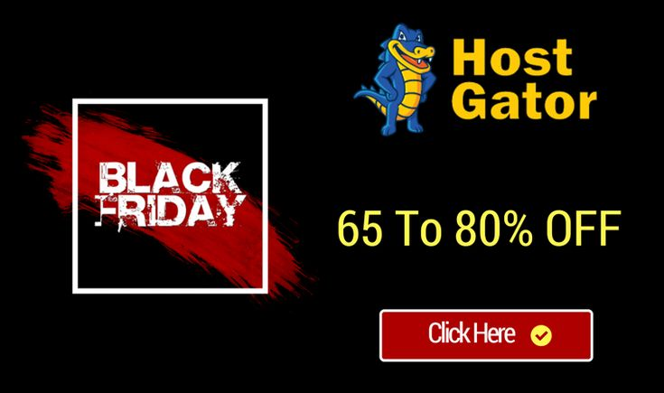 Hostgator Black Friday Super Sale Is On. Grab Your Hosting now.