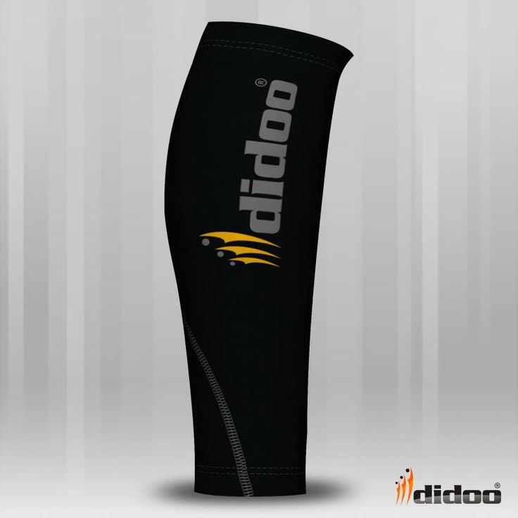 Ideal for running or for training, Didoo Compression Calf Guards are a tight fit compression garment. All Season Compression Baselayer which keeps you cool when its hot and keeps you hot when its cool. The light and tight compression fit is built to move with you for zero distractions. Flat lock stitching - eliminates thick seams, for greater comfort against the skin This Compression Calf Guard is made of High Quality Fabric 80% Polyester 20% Elastane
