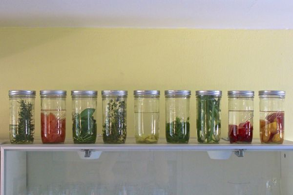 Drinking The Farmer's Market: Homemade Organic Liquor Infusions For Exceptional Summer Cocktails