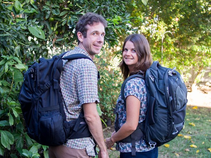 The Best Carry-On Backpack for Digital Nomads // Simon and Erin from Never Ending Voyage review the Tortuga Travel Backpack. #carryon #backpack #digitalnomad