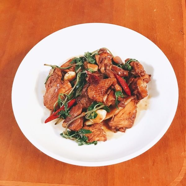 Rice nemesis - three cups of chicken lying rabbit recipes, practice   Fats Trans Union a lot of good food cook recipe Share
