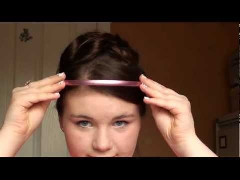 Downton Abbey Hair and Makeup Tutorial - Lavinia Swire I LOVE THIS! I love to do different stuff with my hair and I have been searching!