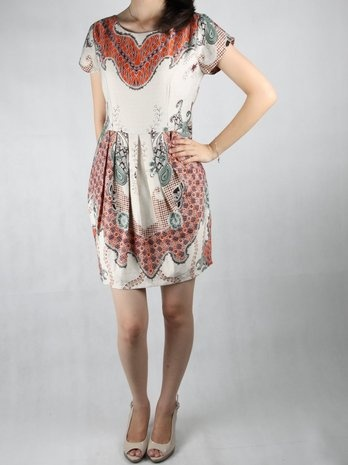 Pretty Unusual Batik Dress  for formal occasion and working ^^