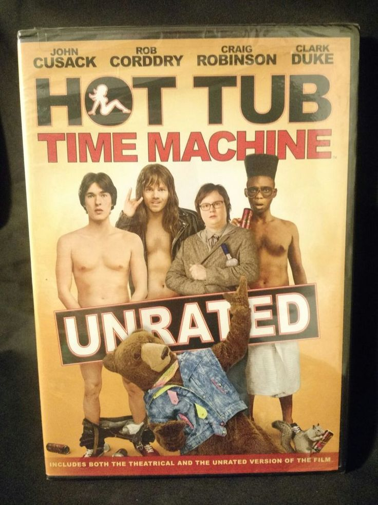 Hot Tub Time Machine DVD 2010 New Sealed | DVDs & Movies, DVDs & Blu-ray Discs | eBay!